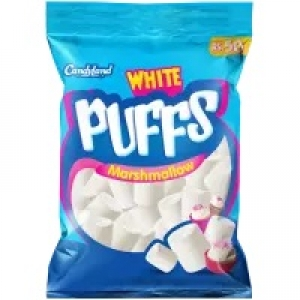 Candyland | White Puffs – Pack of 4